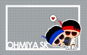 OhMiya SK Wallpaper by CarrotFreak