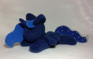 Princess Luna beanie plushie by Bewareofkitty
