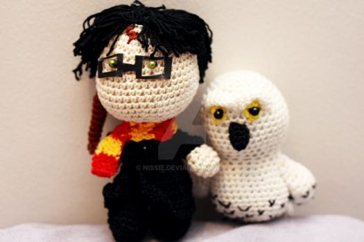 Harry Potter and Hedwig Dolls! by Nissie