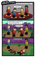 Star Trek Comic: Transporter.. by CodeGeorge