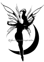 Fairy Tattoo Design 1 by SpiritOnParole