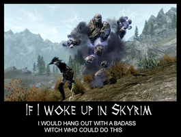 If I woke up in Skyrim 20 by Cinn-Ransome