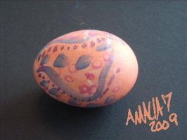 Weird Patter Egg by amaliaseven