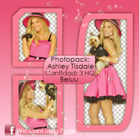 Photopack Png Ashley Tisdale #4 by BeluuBieberEditions