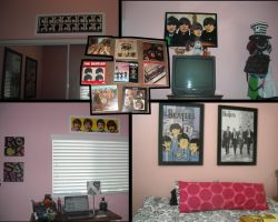 My Beatle Room + My Albums by Lenmccarristarr
