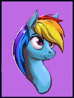 Dash Portrait by Idriaka