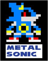 8-bit metal sonic by SonicOfTheHedge