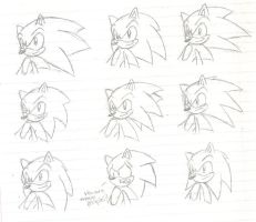 9 Forms Of Sonics Quills by Stealthfang