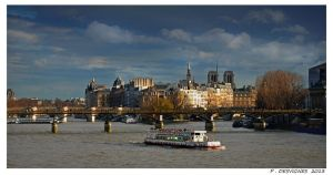 La Seine II by bracketting94