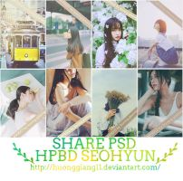 [SHARE PSD] HPBD SEOHYUN by huonggiang11