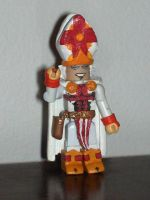 Custom Battle Pope Minimate by jcastick