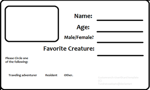 identity card templates free downloads