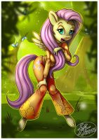 Fluttershy by 14-bis