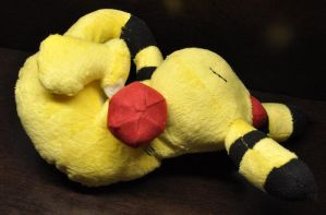 Sleeping Ampharos Plush by shuufly