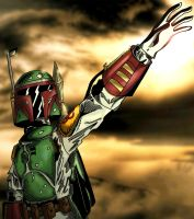 Boba Fett: for the reward colors by ZethKeeper