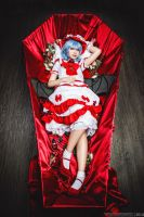 Remilia Scarlet - Coffin by nutcase23