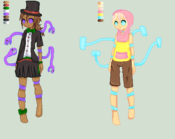 Adoptables 10 and 11 - Gingerbread and Battenburg. by HindersideDrug
