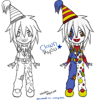 clown Ryou -static chibi- by ssceles