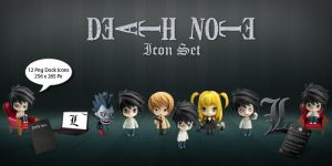 Death Note Icon Set by yanezdelta