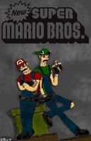 mario bros by kaneburton