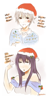 Christmas Eve by AlliandoAlice