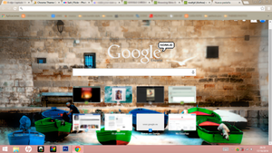 GOOGLE CHROME THEME SEA BOATS by noahjd