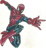 spidey 1 color by wikkidkid
