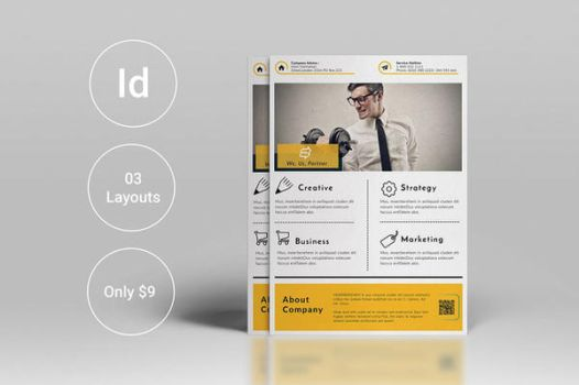 Corporate Flyers Template Print Ready by themagpac