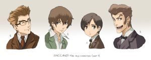 BACCANO characters part 5 by NicoleCover