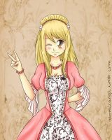 19th Century AU - Lucy Heartfilia by SnowBreeze-Puff
