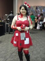 AStL14: Mooshroom girl by Soraply11