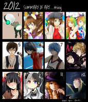 2012 Summary of Art(??) by Shippa-chan
