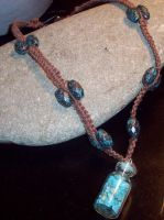 Turquoise Jar Pendant by Sherio88