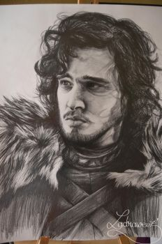 Jon Snow by Puppy-DollsDead