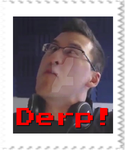 Markiplier - Derp Stamp by SteffieNeko
