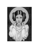 Princess Leia - Daily Sketch by Geekincognito