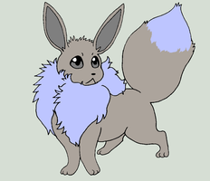 Shiny Eevee by Artrookie--yup