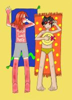 Gold was here, Ash is a loser by lilacbird