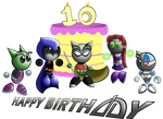Happy 10th Birthday DA by TeenTitansMan
