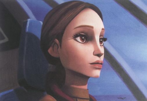 Speed Challenge 18: Padme - Flying Into Trouble by Starfire-Productions