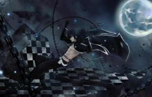 Black Rock Shooter - Steven by PrinceKara