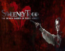 Sweeney Todd: Let the Streets run Red by Kyukitsune