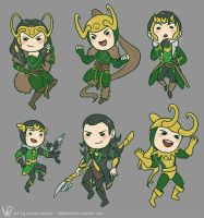 lots of lokis! by DemonLuna