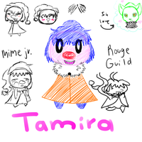 PMD-e: Tamira color ref by Kryshoul