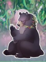 Black Bear by skulldog