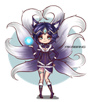 Midnight Ahri by pikabang