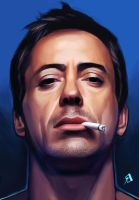 Robert Downey Jr by Phiac-Yeu