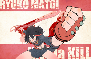 KILL la KILL - MATOI Ryuko by jkim910