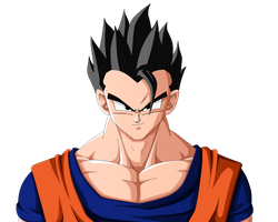 DBZ Drawthrough 6 | Mystic Gohan by b36one