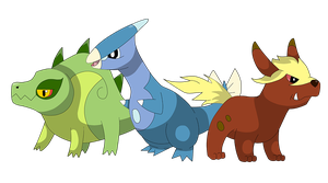 1st stages of Araken starters by Clophil